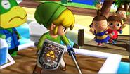 Créditos Modo Leyendas de la lucha Toon Link SSB4 (3DS)