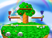 Escenario Beta de Kirby No. 1 SSB