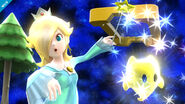 Estela y Detello en la Galaxia Mario SSB4 (Wii U)