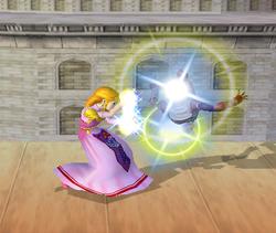 Lanzamiento delantero de Zelda (1) SSBM
