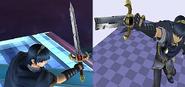Marth espada rota Beta SSBB