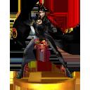 Trofeo de Bayonetta (original) SSB4 (3DS)