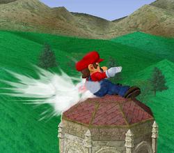Ataque rápido de Mario SSBM
