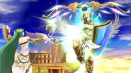 Créditos Modo Senda del guerrero Pit SSB4 (Wii U)