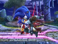 Golpiza Sonic SSBB