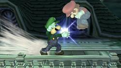 Lanzamiento delantero Luigi SSBB (2)