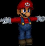Pose T Mario (SSBM)