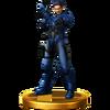 Trofeo de Adam Malkovich SSB4 (Wii U)