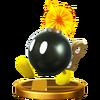 Trofeo de Bob-omba SSB4 (Wii U)