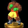 Trofeo de Mr. Sandman SSB4 (Wii U)