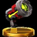 Trofeo de Pistola de rayos SSB4 (Wii U)