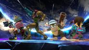 Créditos Modo Senda del guerrero Diddy Kong SSB4 (Wii U)