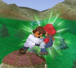 Golpiza Dr. Mario SSBM