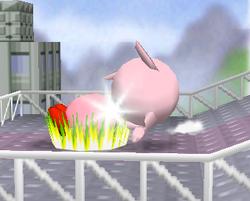 Lanzamiento trasero de Jigglypuff (2) SSB
