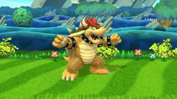 Pose de espera de Bowser (1-2) SSB4 (Wii U)