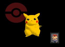 Pose de victoria Pikachu Y (3) SSBM