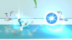 Saludo a propulsión (2) SSB4 (Wii U)