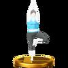 Trofeo de El árbol SSB4 (Wii U)