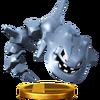 Trofeo de Steelix SSB4 (Wii U)