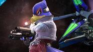 Falco en la Estacion Espacial SSB4 (Wii U)