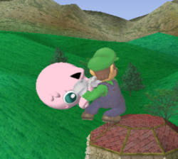 Lanzamiento delantero de Luigi (1) SSBM