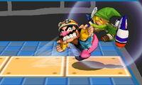 Lanzamiento hacia adelante de Wario (1) SSB4 (3DS)