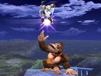 Lanzamiento superior Donkey Kong SSBB