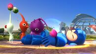 Mega Man y los Pikmin SSB4 (Wii U)