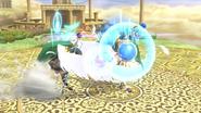 Palutena usando Contraataque SSB4 (2) (Wii U)