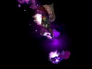 Patada del hechicero spike SSBM