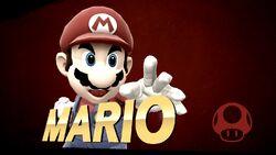 Pose de victoria hacia arriba (3) Mario SSB4 (Wii U)