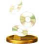 Trofeo de CD SSB4 (Wii U)