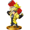 Trofeo de Wonder-Yellow SSB4 (Wii U)