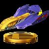 Trofeo del Falcon Flyer SSB4 (Wii U)