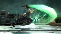 Ataque normal Cloud (3) SSB4 (Wii U)