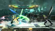 Haz espada con el límite al máximo Cloud (2) SSB4 (Wii U)