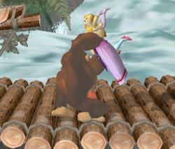 Lanzamiento hacia abajo de Donkey Kong (1) SSBM