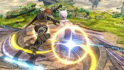 Lanzamiento hacia arriba Mewtwo (1) SSB4 (Wii U)