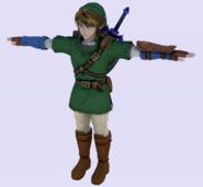 Pose T Link SSB4 (Wii U)