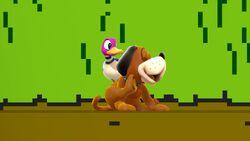 Pose de espera 2 Dúo Duck Hunt SSB4 (Wii U)