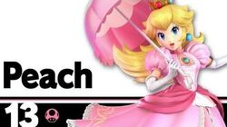13 Peach – Super Smash Bros