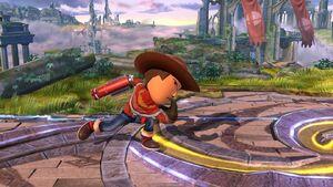 Agarre en carrera Tirador Mii SSB4 Wii U