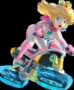 Art de Peach en Mario Kart 8