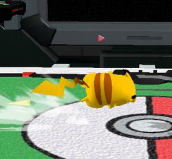 Ataque rápido de Pikachu SSBM