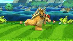 Burla hacia abajo Bowser (1) SSB4 (Wii U)