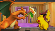Créditos Modo Senda del guerrero Pikachu SSB4 (3DS)