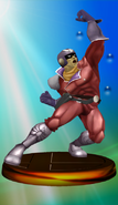 Trofeo Captain Falcon Smash 2 SSBM
