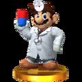 Trofeo de Dr. Mario SSB4 (3DS)