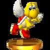 Trofeo de Koopa Paratroopa (rojo) SSB4 (3DS)