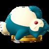 Trofeo de Snorlax SSB4 (Wii U)